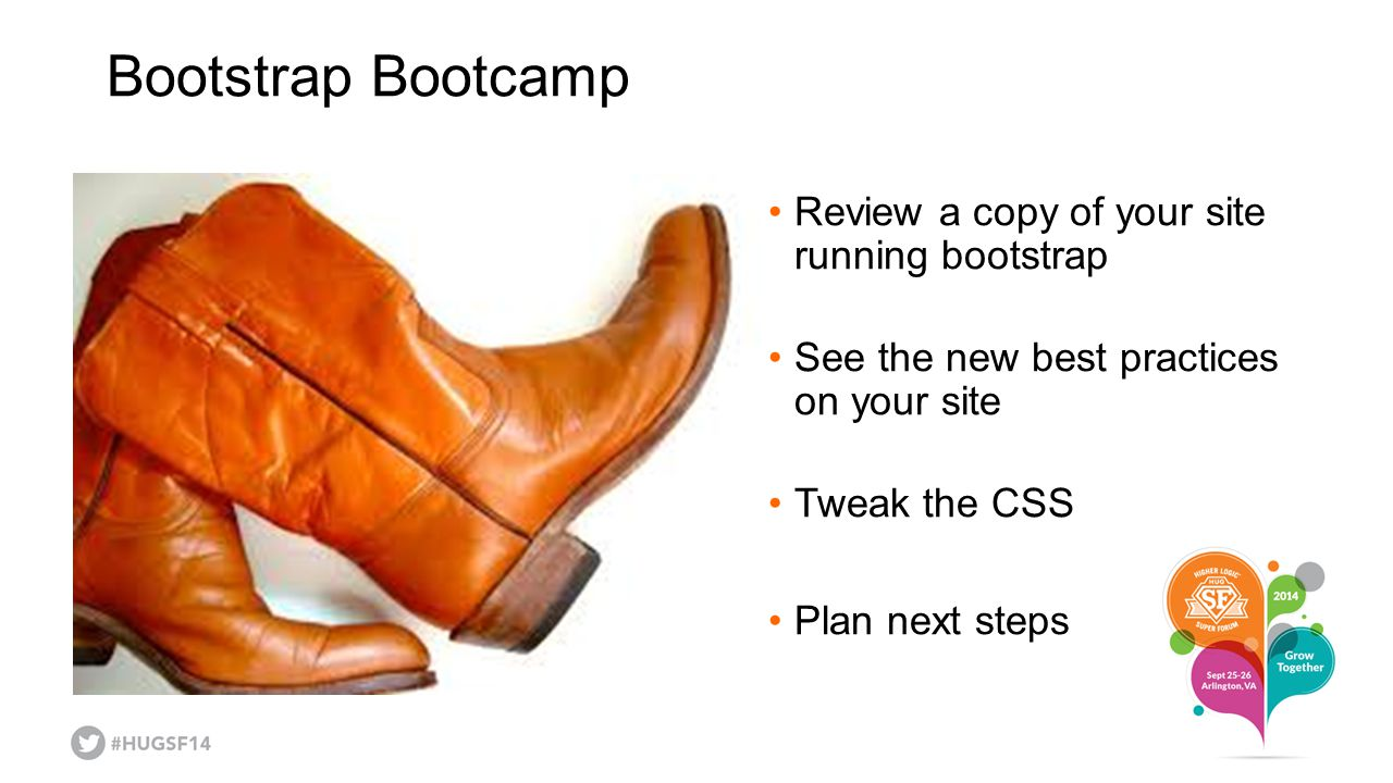 Bootstrap Bootcamp Review a copy of your site running bootstrap