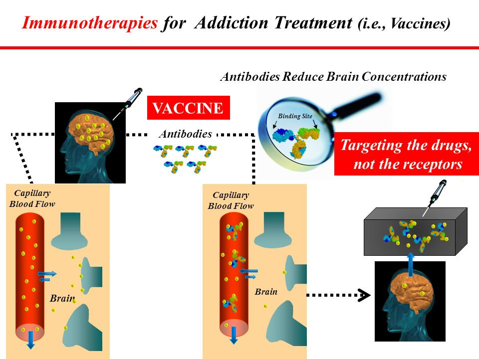 Immunotherapies for Addiction Treatment (i.e., Vaccines)