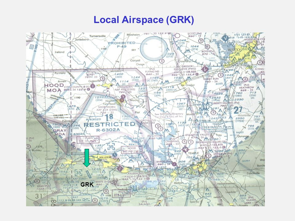 Local Airspace (GRK) GRK