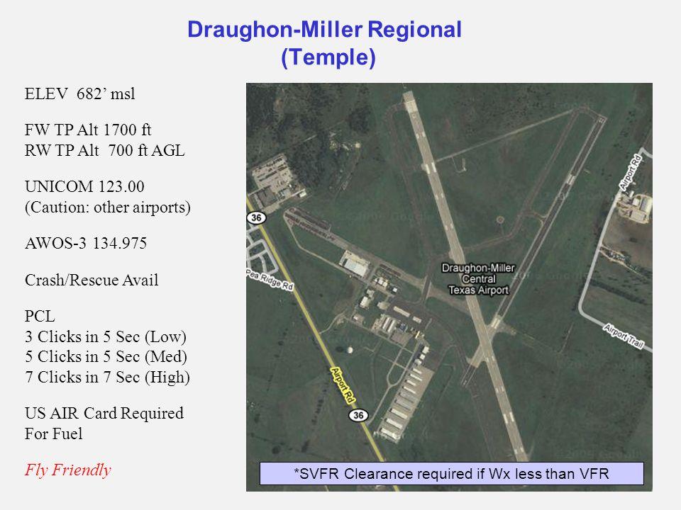 Draughon-Miller Regional (Temple)