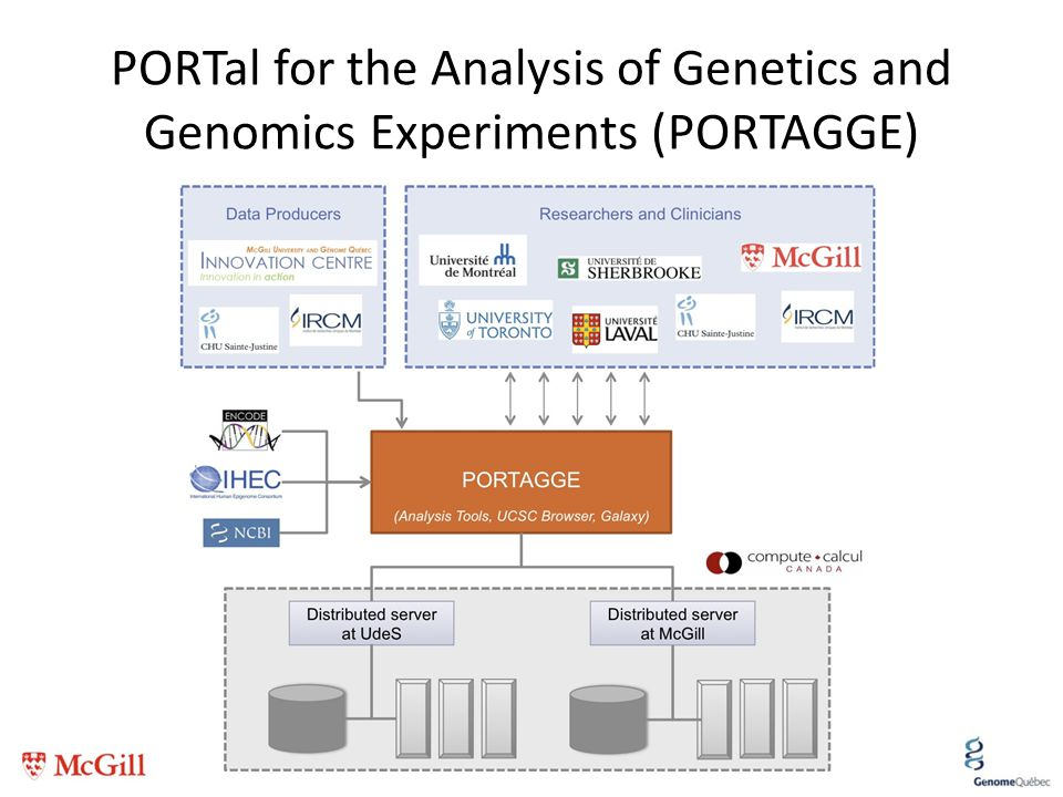 PORTal for the Analysis of Genetics and Genomics Experiments (PORTAGGE)