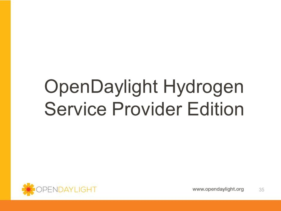 OpenDaylight Hydrogen Service Provider Edition