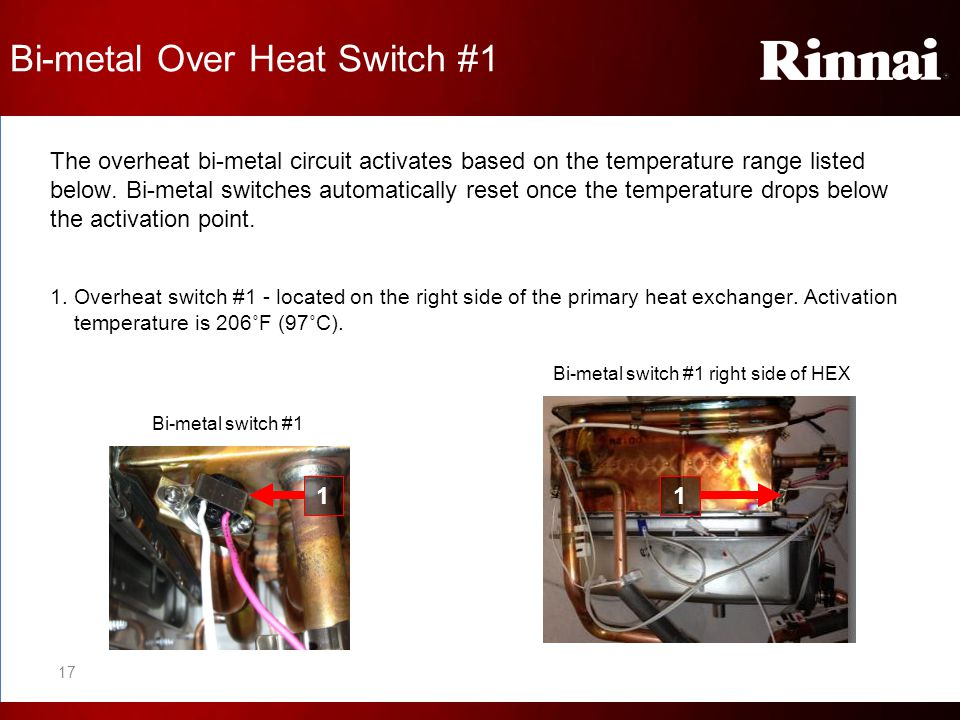 Bi-metal Over Heat Switch #1