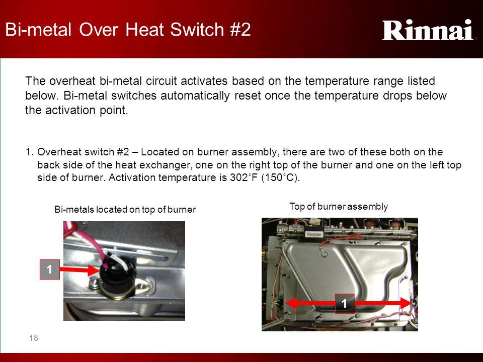 Bi-metal Over Heat Switch #2