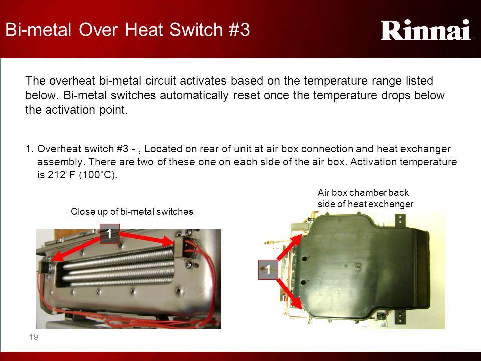 Bi-metal Over Heat Switch #3