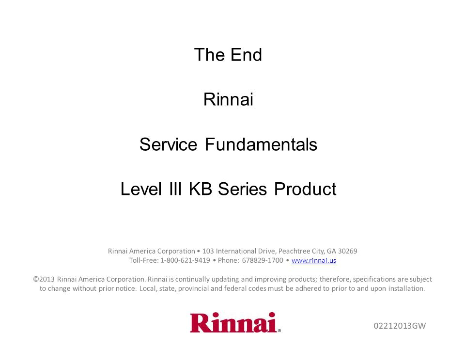 Level III KB Series Product