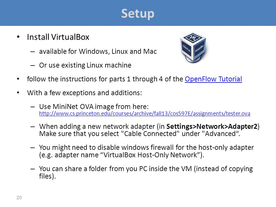 Setup Install VirtualBox available for Windows, Linux and Mac