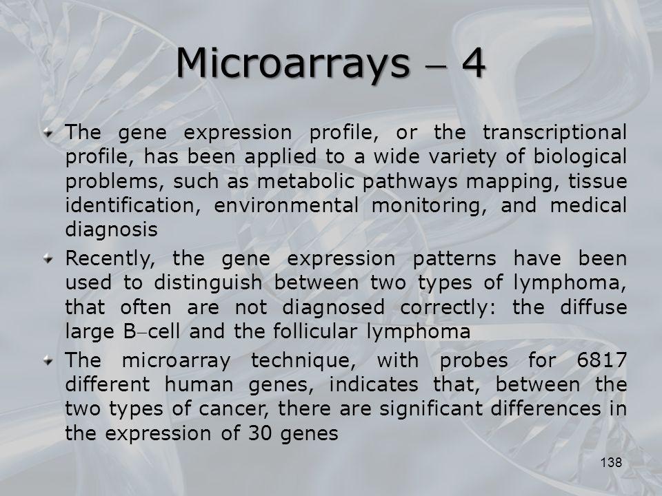 Microarrays  4