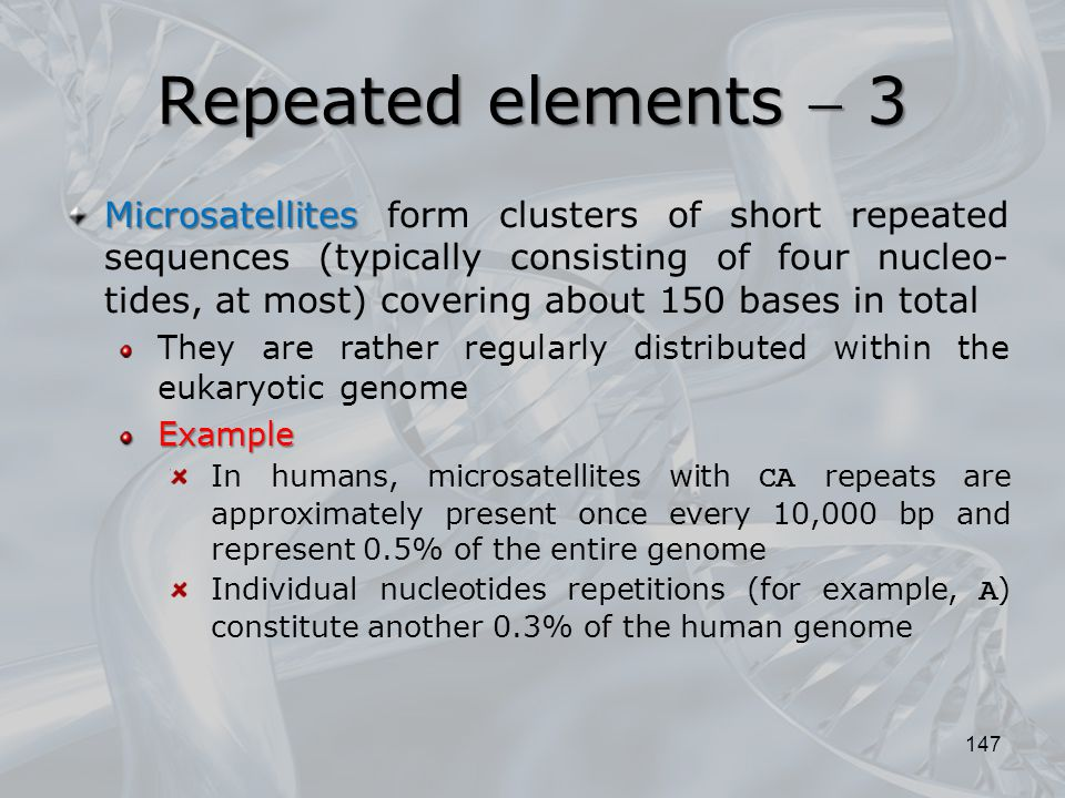 Repeated elements  3