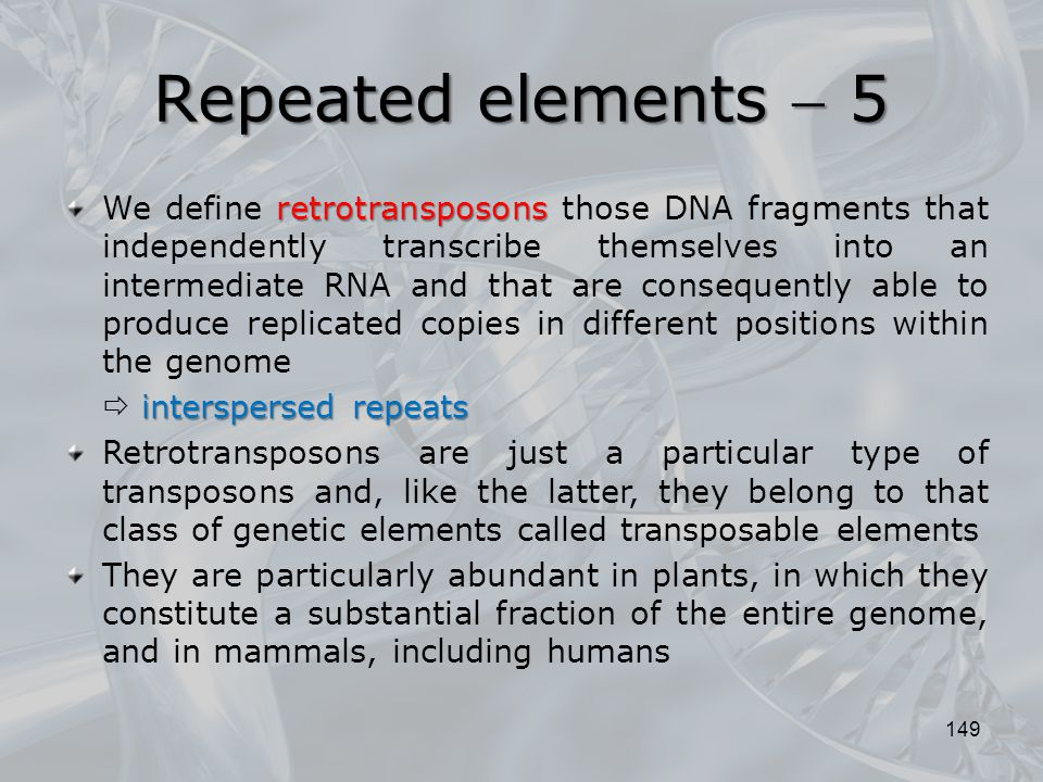 Repeated elements  5