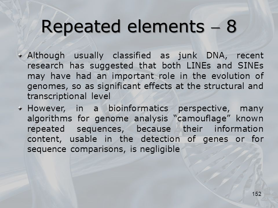 Repeated elements  8