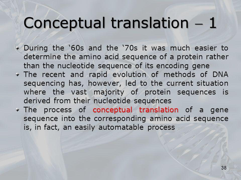 Conceptual translation  1