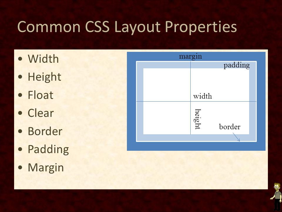 Common CSS Layout Properties