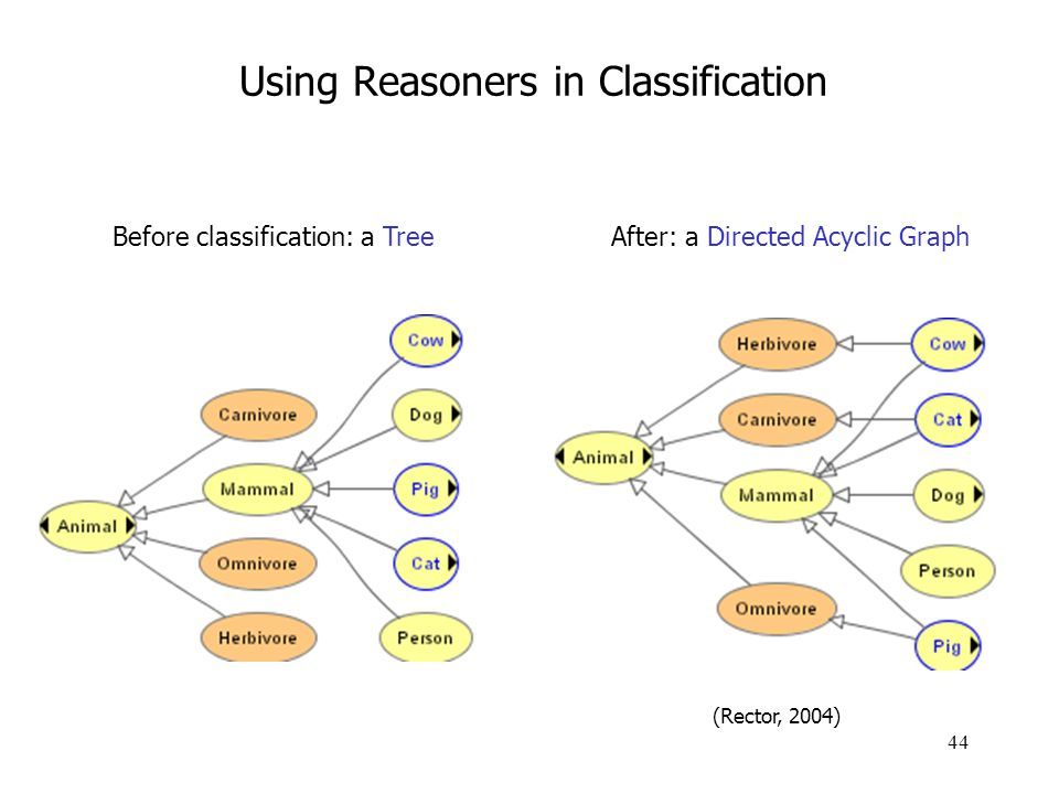 Using Reasoners in Classification