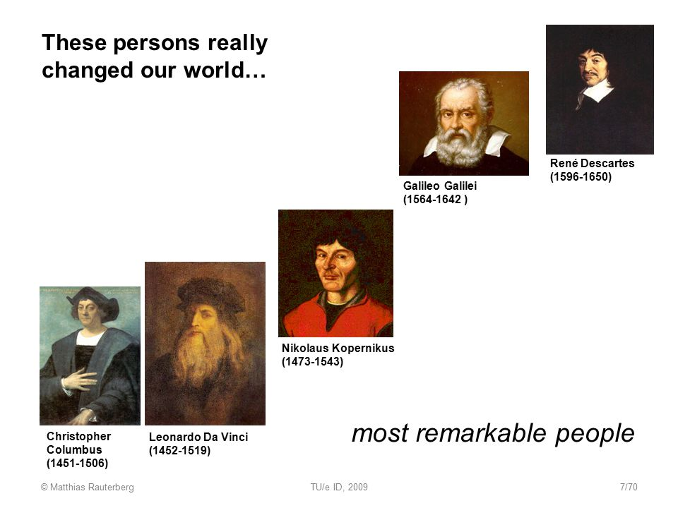 most remarkable people