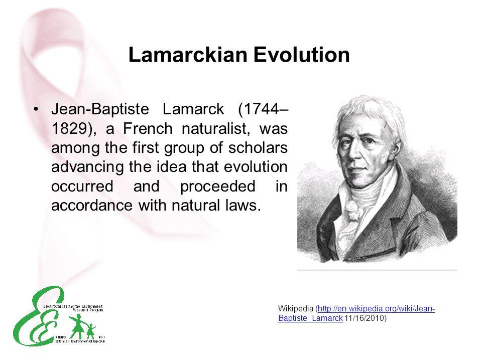 Lamarckian Evolution