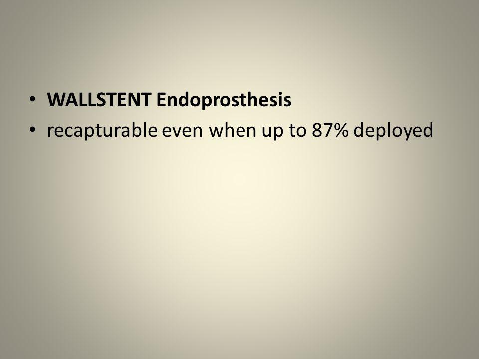 WALLSTENT Endoprosthesis