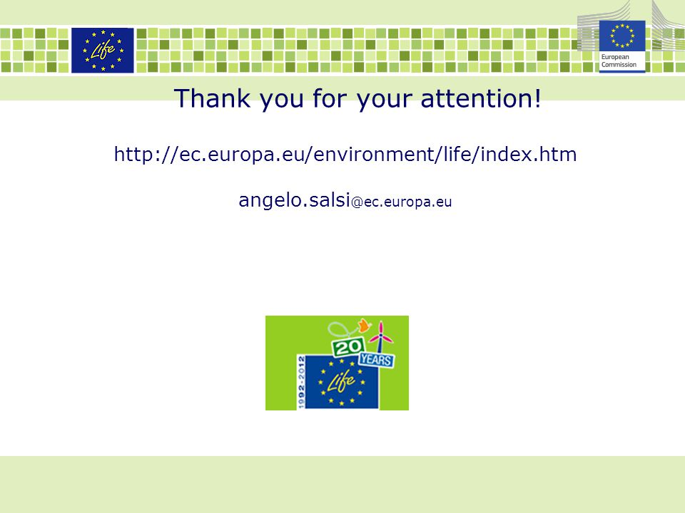 Thank you for your attention. http://ec. europa
