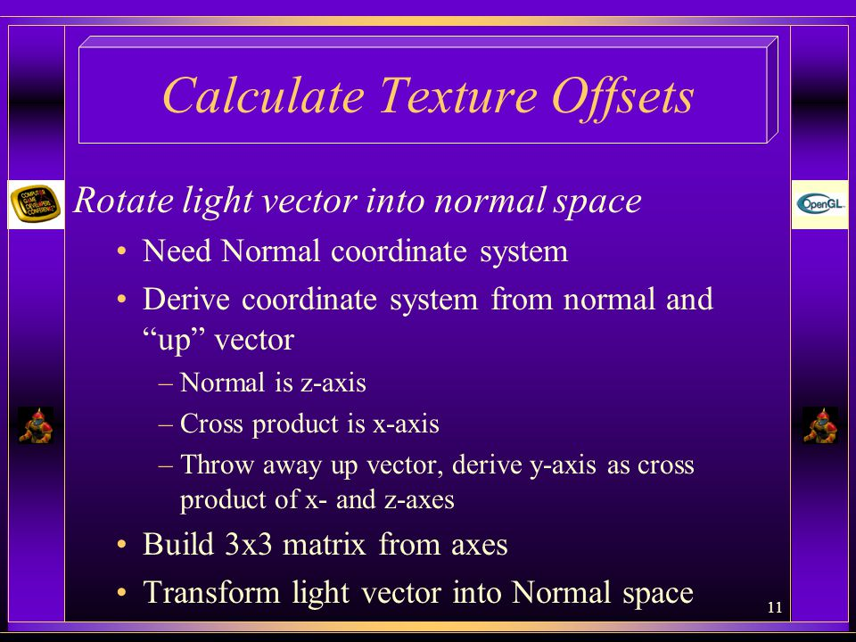 Calculate Texture Offsets