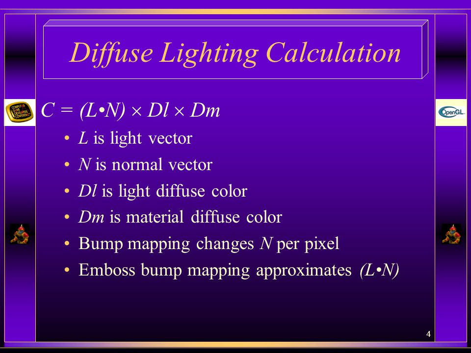 Diffuse Lighting Calculation