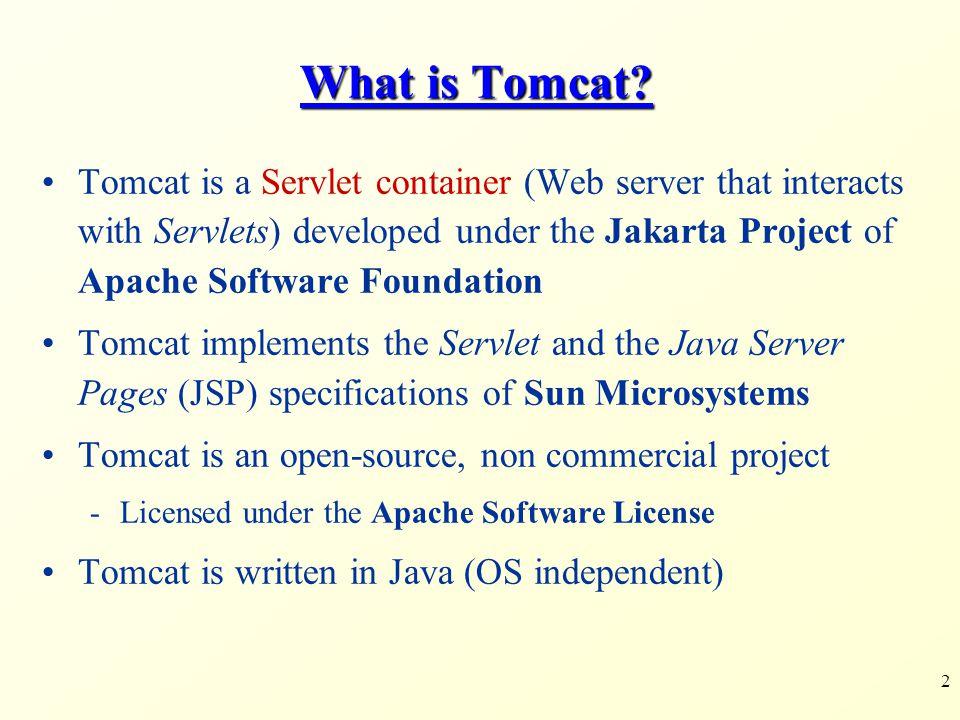 What is Tomcat