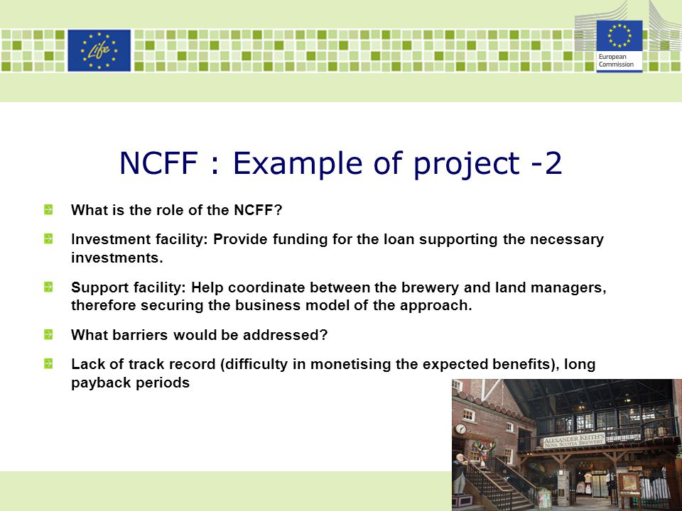 NCFF : Example of project -2