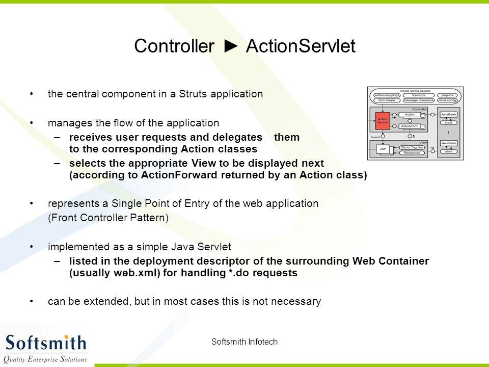 Controller ► ActionServlet
