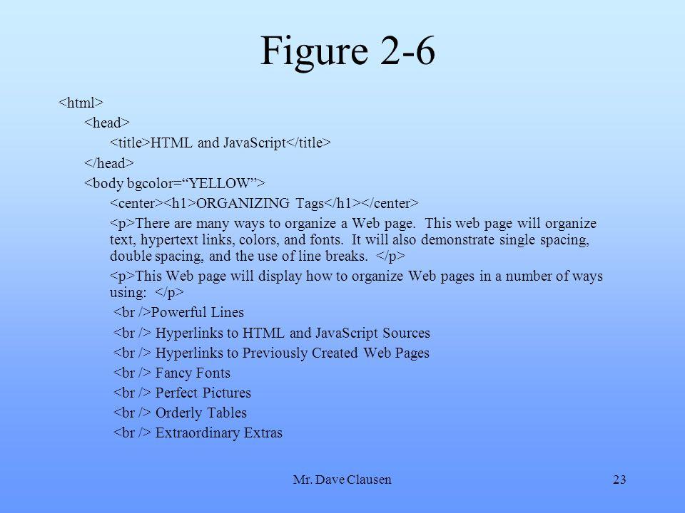 Figure 2-6 <html> <head>