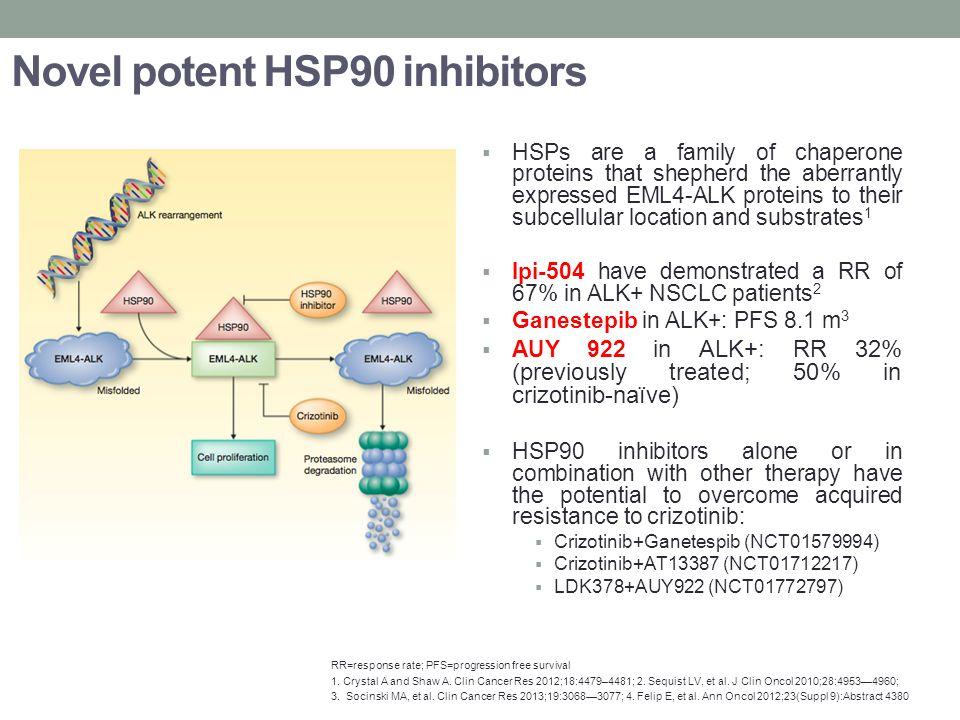 Novel potent HSP90 inhibitors