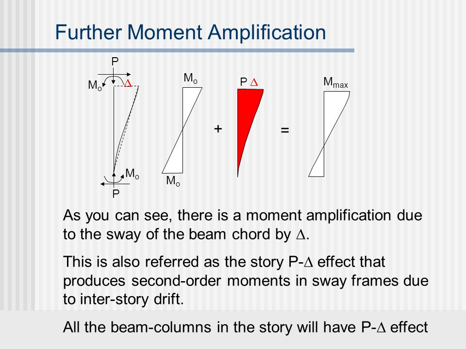 Further Moment Amplification