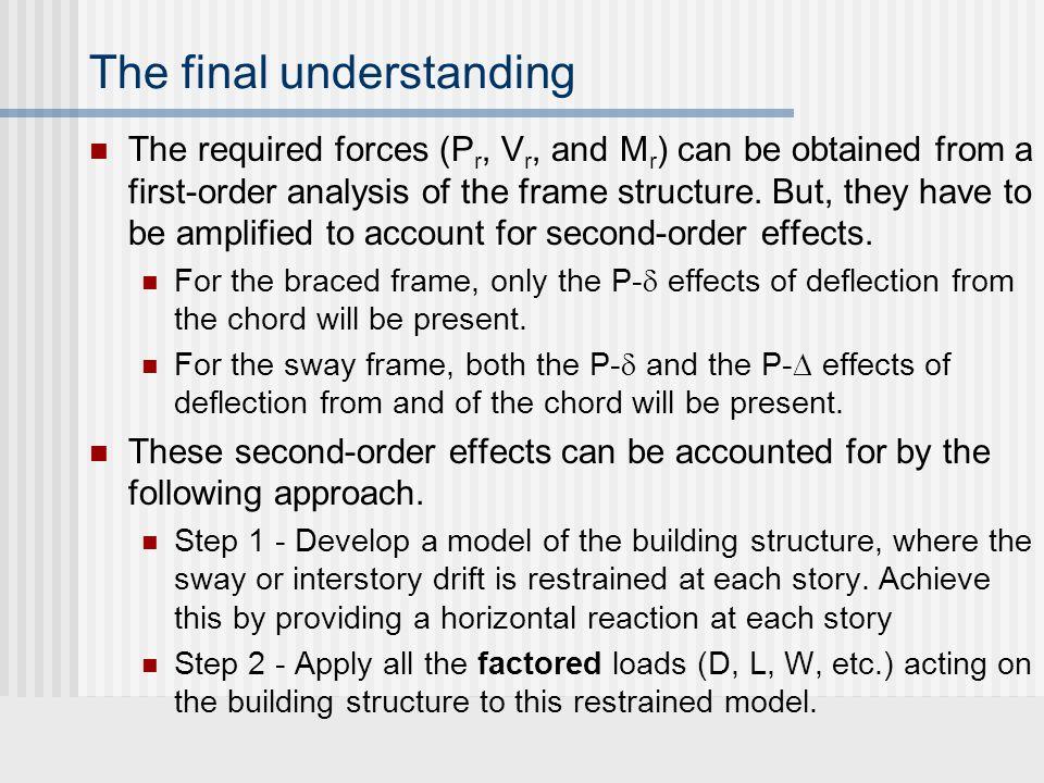 The final understanding