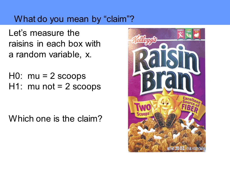 What do you mean by claim