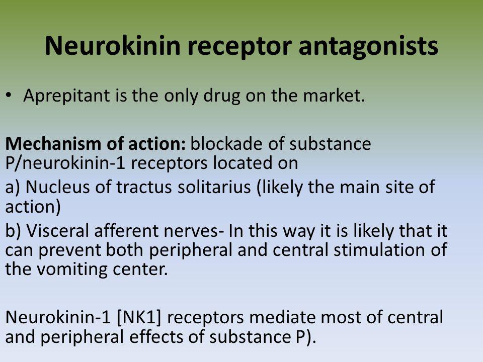 Neurokinin receptor antagonists