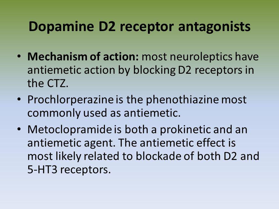 Dopamine D2 receptor antagonists
