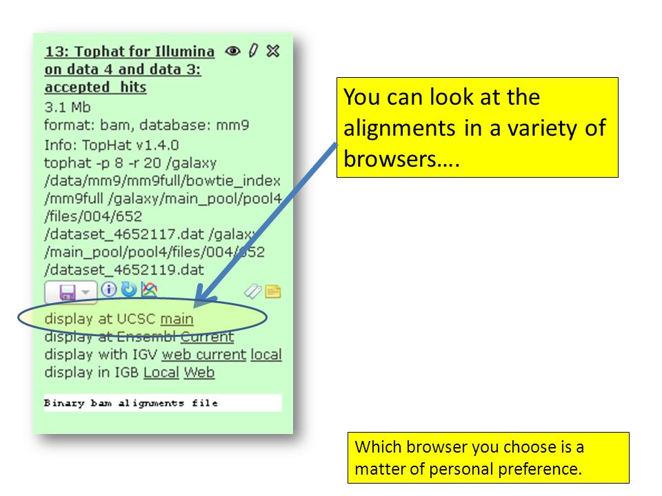 You can look at the alignments in a variety of browsers….