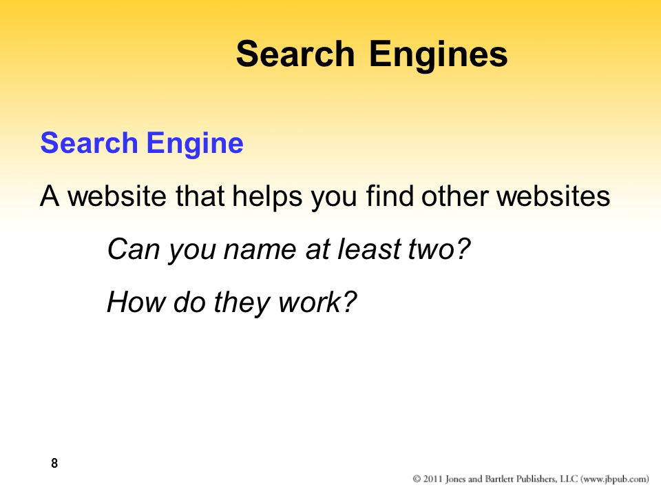 Search Engines Search Engine