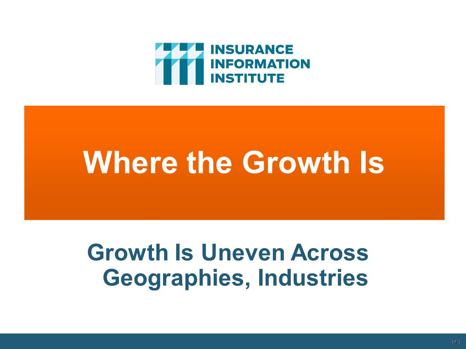 Growth Is Uneven Across Geographies, Industries