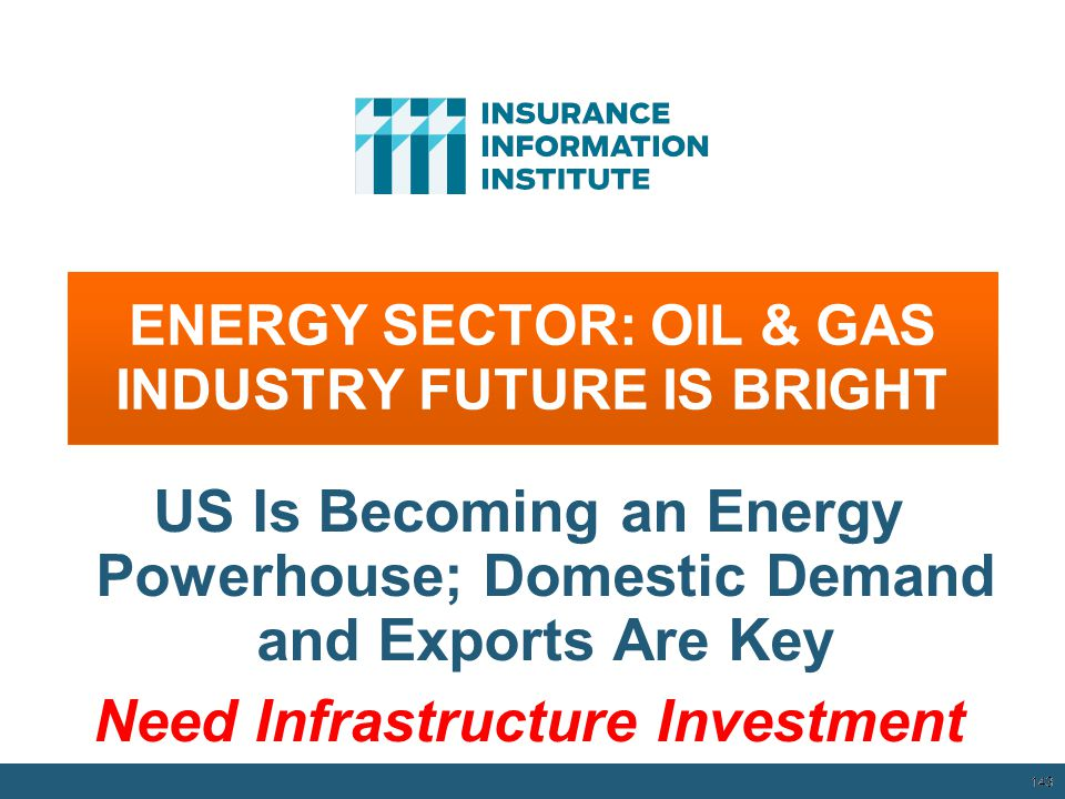 ENERGY SECTOR: OIL & GAS INDUSTRY FUTURE IS BRIGHT