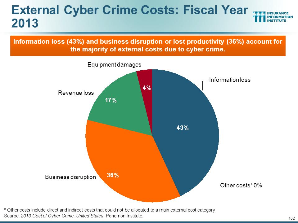 External Cyber Crime Costs: Fiscal Year 2013