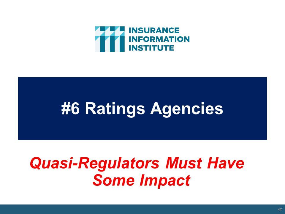 Quasi-Regulators Must Have Some Impact