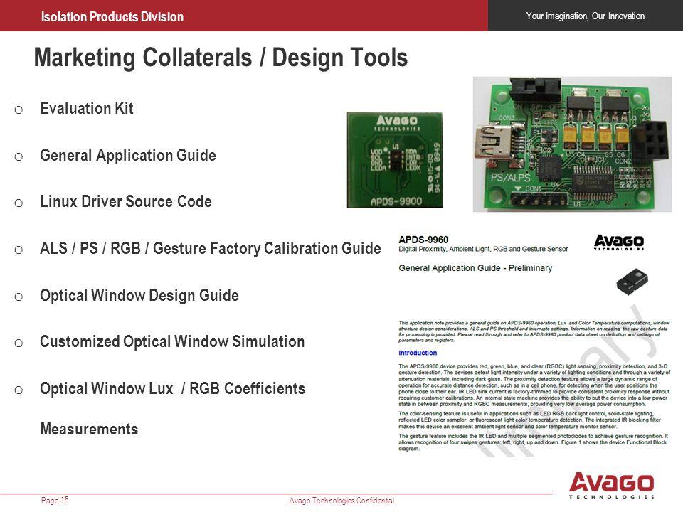 Marketing Collaterals / Design Tools