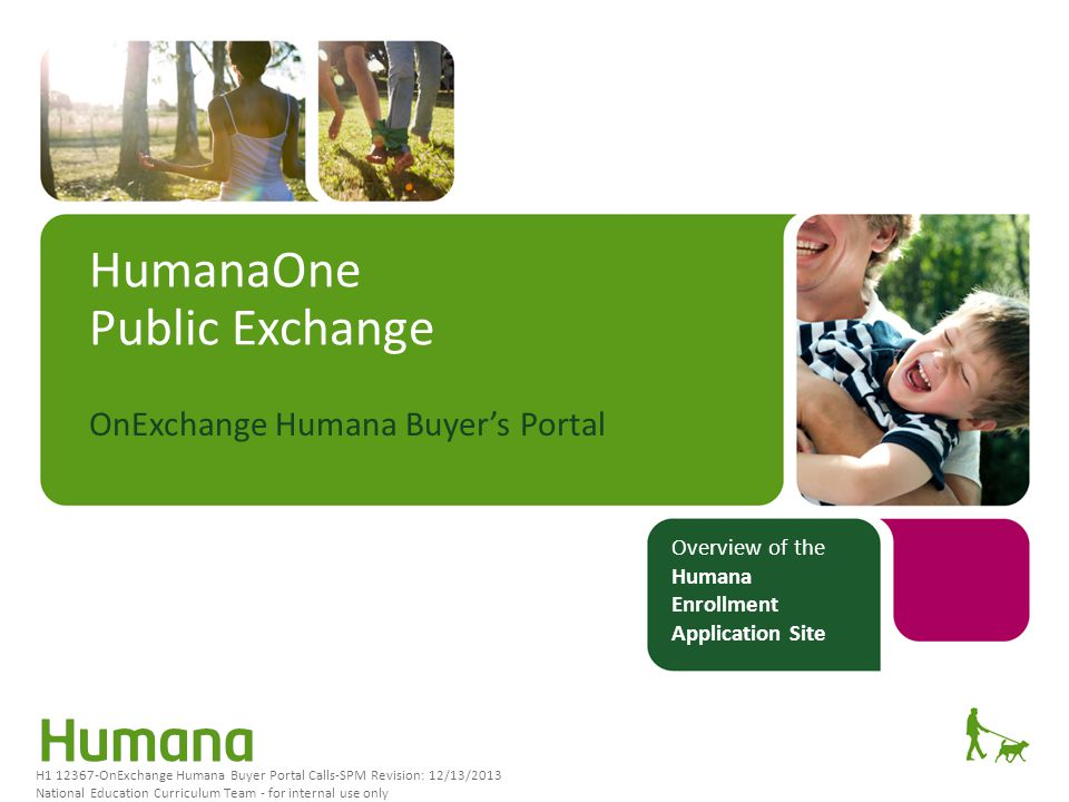 HumanaOne Public Exchange