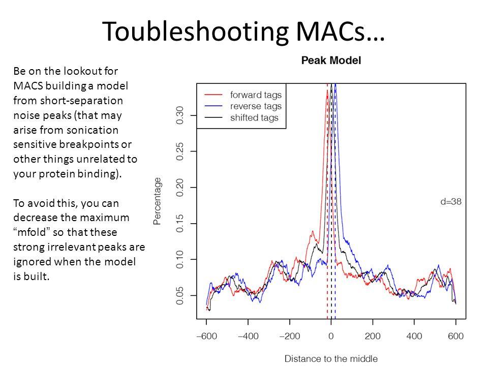 Toubleshooting MACs…