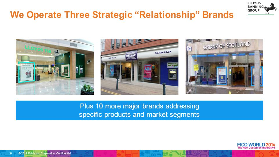 We Operate Three Strategic Relationship Brands