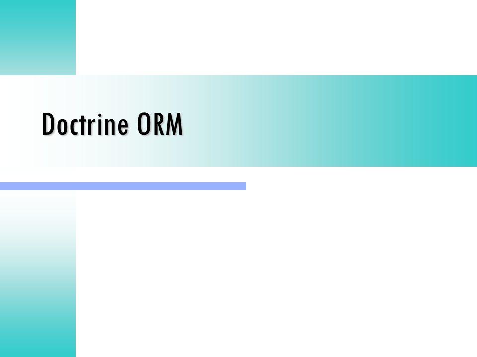 Doctrine ORM