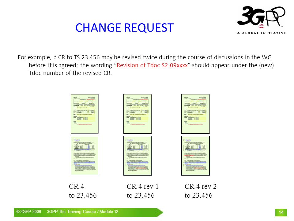 CHANGE REQUEST CR 4 rev 1 to CR 4 rev 2 to