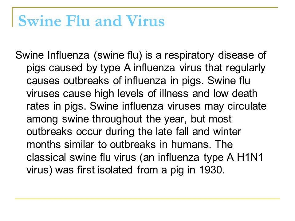 Swine Flu and Virus