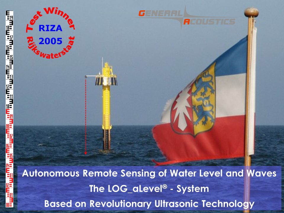 Autonomous Remote Sensing of Water Level and Waves