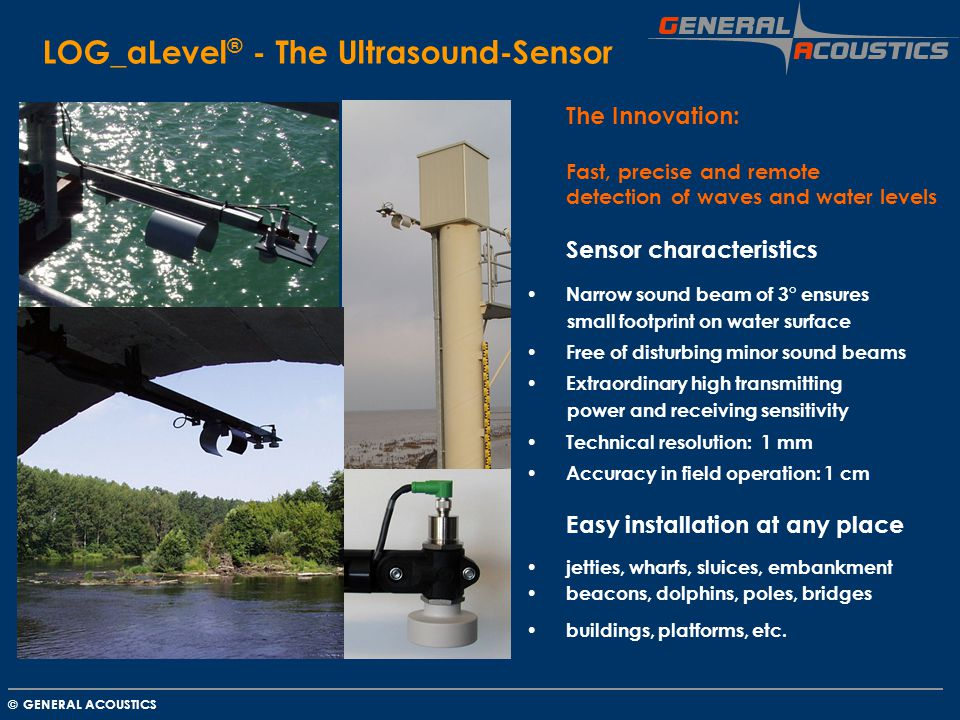LOG_aLevel® - The Ultrasound-Sensor