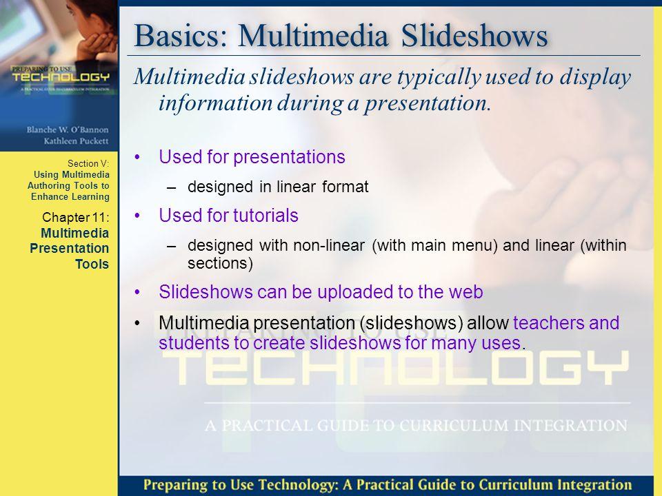 Basics: Multimedia Slideshows